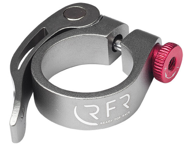 Cube RFR Seat post clamp pikalinkku, grey/red
